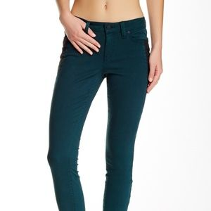 Level 99 Teal Skinny Jeans Size 28